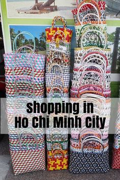 Guide to shopping in Ho Chi Minh City (HCMC) Vietnam…
