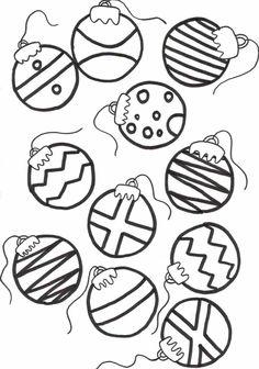 Printable Christmas Ornament Templates  Christmas Tree Ornaments