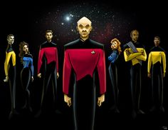 Star Trek TNG by http://rocom.deviantart.com/art/star-trek-TNG-132726803
