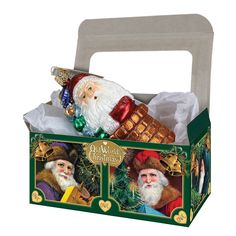 """Large Gift Boxes For Large Christmas Tree Ornament 3 1/2"""" x 6"""" (25 Boxes)"""
