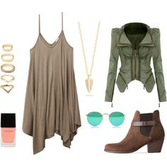 ankle boot 2 by camila-maffessoni on Polyvore featuring moda, Wet Seal, rag & bone, Elizabeth and James, Forever 21 and Witchery