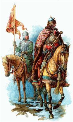 Русское войско в 17 веке