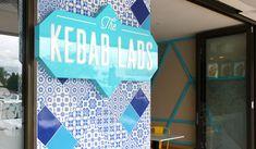 The Kebab Lads Bull Creek  #Kebab #Lads #Shop #Shopfront #Interior #Logo #Branding #Design #BonTonTiles #Turkish #Pattern #Bon #Ton #Tiles #Feature