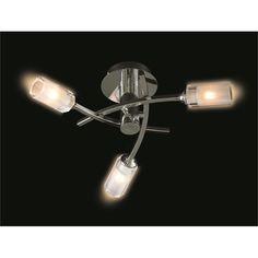Logan 3 Arm Ceiling Light at Homebase.co.uk
