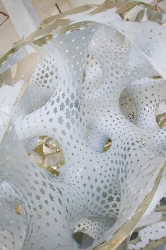 Gallery - Marc Fornes / THEVERYMANY Constructs Self-Supporting Perforated Pavilion at Miami Art Basel - 7