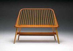 Modern shaker bench by James Becker--(Please Follow (2) Design-Modern-Furniture-Objects For New Pins)