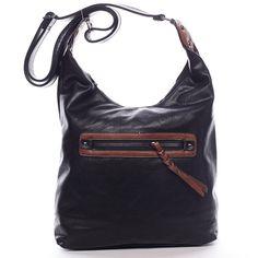 Módní hit! Crossbody kabelka pro každý den od Delami. Černá dámská kabelka přes rameno nebo crossbody. Kabelka má dělený vnitřek a  pevné dno. Nastavitelný popruh umožňuje dát kabelku snadno jako crossbody přes hlavu. Na přední i zadní straně je kapsa na zip. Uvnitř jsou další menší kapsy na drobnosti. Rebecca Minkoff, Model, Bags, Fashion, Purses, Moda, Fashion Styles, Taschen