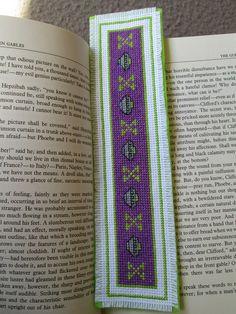 segnalibri bookmarks by Leah X-Files Bookmark | My first cross stitch design