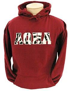 Need a gift idea? Check out this holiday red AQHA hoodie.