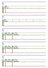 Letter Tracing Worksheets, 1st Grade Math Worksheets, Tracing Letters, Preschool Worksheets, French Language Lessons, French Kids, Vowel Sounds, Learn French, Montessori