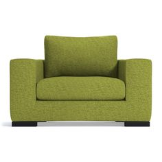 Apt2B Hillandale Green Apple Chair ($898) ❤ liked on Polyvore featuring home, furniture, chairs and accent chairs