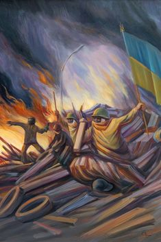 Oleg Shuplyak, 1967 ~ painter of surreal optical illusion - Optical Illusions Optical Illusion Paintings, Optical Illusions Drawings, Face Illusions, Illusions Mind, Illusion Drawings, Art Optical, Illusion Art, Illusion Pictures, Hidden Images
