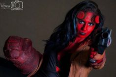 Hellboy Cosplay by Lauren See Photo by Victorieux Photography