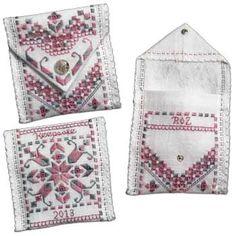Pocket Keepsake in Hardanger Embroidery