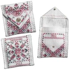 Pocket Keepsake kit in Hardanger Embroidery
