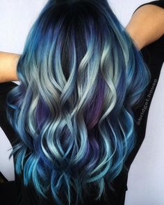 Vivid Hair Color, Beautiful Hair Color, New Hair Colors, Cool Hair Color, Green Hair, Blue Hair, Alternative Hair, Hair Game, Dye My Hair
