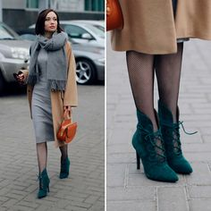 Get this look: http://lb.nu/look/8606871  More looks by Sonya Karamazova: http://lb.nu/sonyakaramazova  Items in this look:  Acne Studios Scarf, Bershka Dress   #chic #classic #elegant