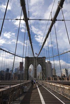 Brooklyn Bridge ~ Brooklyn, New York