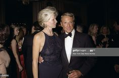 Roy Scheider and wife attending the Princess Grace Foundation USA Dinner at the Waldorf-Astoria. Get premium, high resolution news photos at Getty Images Roy Scheider, Waldorf Astoria, New York Daily News, Still Image, The Outsiders, Foundation, Presentation, Princess, Foundation Series