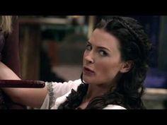 Scenes from Legend of The Seeker featuring Bridget Regan and Tabrett Bethell. Bridget Regan, Youtube, Youtubers, Youtube Movies