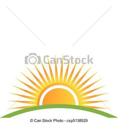 Vector - sunset horizon - stock illustration, royalty free illustrations, stock clip art icon, stock clipart icons, logo, line art, EPS picture, pictures, graphic, graphics, drawing, drawings, vector image, artwork, EPS vector art