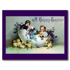 $$$ This is great for          Chicks, Kids, Violets and Giant Eggshell Vintage Post Cards           Chicks, Kids, Violets and Giant Eggshell Vintage Post Cards We provide you all shopping site and all informations in our go to store link. You will see low prices onShopping          Chicks,...Cleck Hot Deals >>> http://www.zazzle.com/chicks_kids_violets_and_giant_eggshell_vintage_postcard-239164626723255325?rf=238627982471231924&zbar=1&tc=terrest