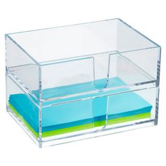 Clear Stackable Memo Holder | The Container Store