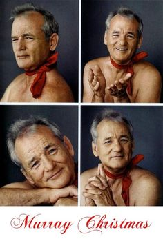 Bill Murray Christmas 2013 ( Such an Awesome Actor & Funny ! )