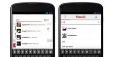 Pinterest za android ažuriran obavijestima