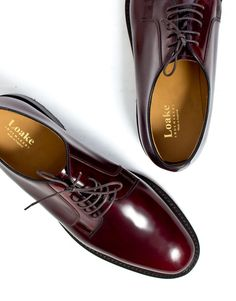Loake 771 Shoe in Burgundy
