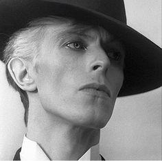 David Bowie, The Thin White Duke.