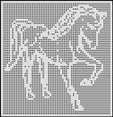 HORSE BOWS CROCHET AFGHAN PATTERN
