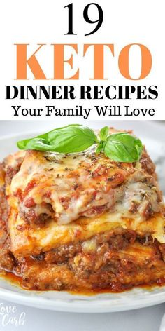 19 Best Keto Dinner Recipes Your Family Will Love. Keto dinners, keto dinner recipes, easy keto dinner recipes, . Looking for keto dinner recipes that are so easy and fast to prepare? Here are the ultimate 19 keto dinner recipes your family will really love; so yummy and delicious. keto dinners, keto dinner ideas, ketogenic dinner recipes, #keto #recipes #ketogenic #ketorecipes #dinner #healthy