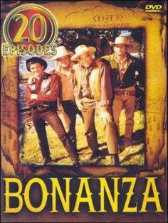 Bonanza (1959-1973). Todos los caminos pasan por La Ponderosa, el rancho de los Cartwight, que se encuentra en los alrededores de Virginia City, junto al Lago Tahoe (Nevada). Ben Cartwright es un viudo que cuida de sus tres hijos Adam, Hoss y Joe, cada uno de una esposa fallecida.
