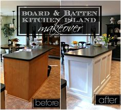 Today I am going to share with youthe tutorial on howMr. Rosemary Lanecreated a new look forour rather boring kitchen island for j...
