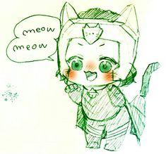 Baby Loki || Thor: Ragnarok || Cr: 篠森もきゅ
