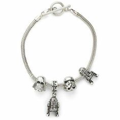 Nerdy charm bracelet. Super awesome!