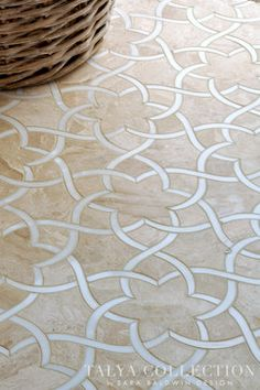 Isidore, Talya Collection by Sara Baldwin for Marble Systems traditional-floor-tiles