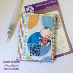 Clear Photopolymer New Baby Stamps Elf, New Baby Products, Stamps, Card Making, Paper Crafts, Crafty, How To Make, Cards, Design