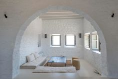 It's all about the views with this hilltop holiday home in Greece.