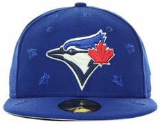 buy online 78ee5 6bc46 MLB x NEW ERA 「Toronto Blue Bays All Over」59Fifty Fitted Baseball Cap