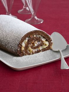German Chocolate Cake Roll from FoodNetwork.com.  this frosting/filling is sooooo good and so easy