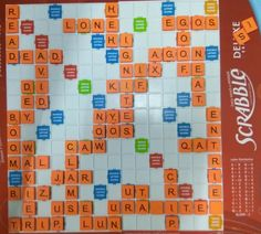Scrabble, Board Games, Club, Activities, Tabletop Games, Table Games