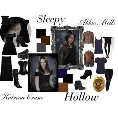 Sleepy Hollow outfits inspired by Katrina Crane and Abbie Mills