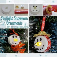 Tea light ornaments