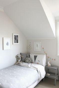 Mi Dulce de Melocoton: 10 habitaciones infantiles para copiar // grey and white kids room