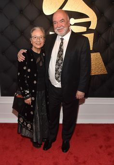 Peter Erskine Photos Photos - Producer Peter Erskine (R) and Guest attend The 59th GRAMMY Awards at STAPLES Center on February 12, 2017 in Los Angeles, California. - The 59th GRAMMY Awards -  Red Carpet