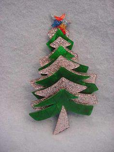 Lea Stein Paris Christmas Tree Pin Pin   eBay