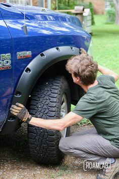 """Upgrading our overland rig with """"do it yourself"""" installation of Bushwacker Fender Flares on a 2015 Ram Hostess Cupcakes, Ford Sport Trac, Do It Yourself Camper, Slide In Truck Campers, Tin Can Tourist, Overland Truck, Truck Mods, Truck Paint, All Terrain Tyres"""
