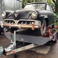 Getrailerter #Studebaker am Bodensee. Die Luftfeuchtigkeit doch etwas zu hoch? #Studebaker #oldtimer #classiccars #vintagecars #autos #cars ...
